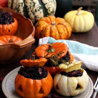 Halloween Stuffed Pumpkins.