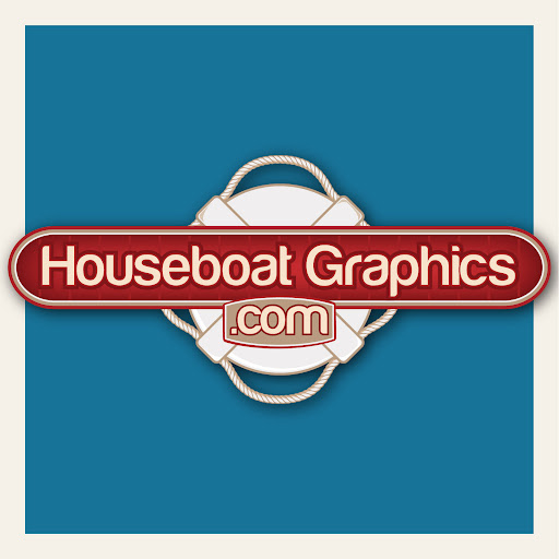 HouseboatGraphicscom Gallery - Custom houseboat graphics