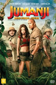 capa Jumanji: Bem-Vindo à Selva
