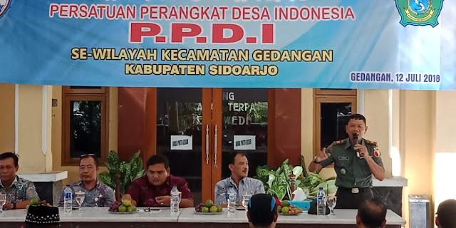 HALAL BIHALAL PERSATUAN PERANGKAT DESA INDONESIA (PPDI) KECAMATAN GEDANGAN