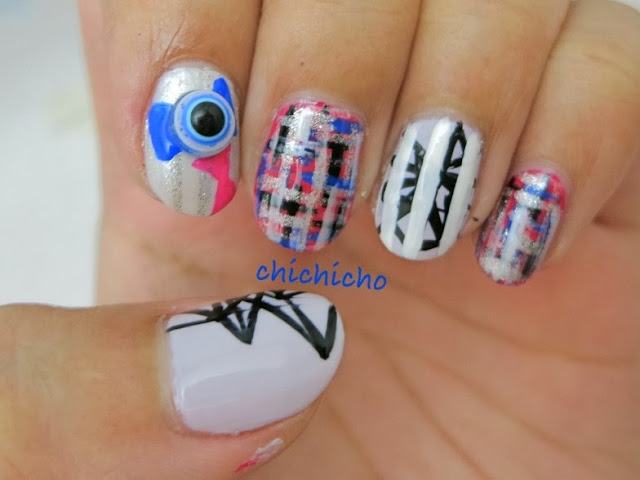 Victoria Amber Luna Sulli Krystal K pop F(x) Electric Shock Nail Art - Born Pretty Store