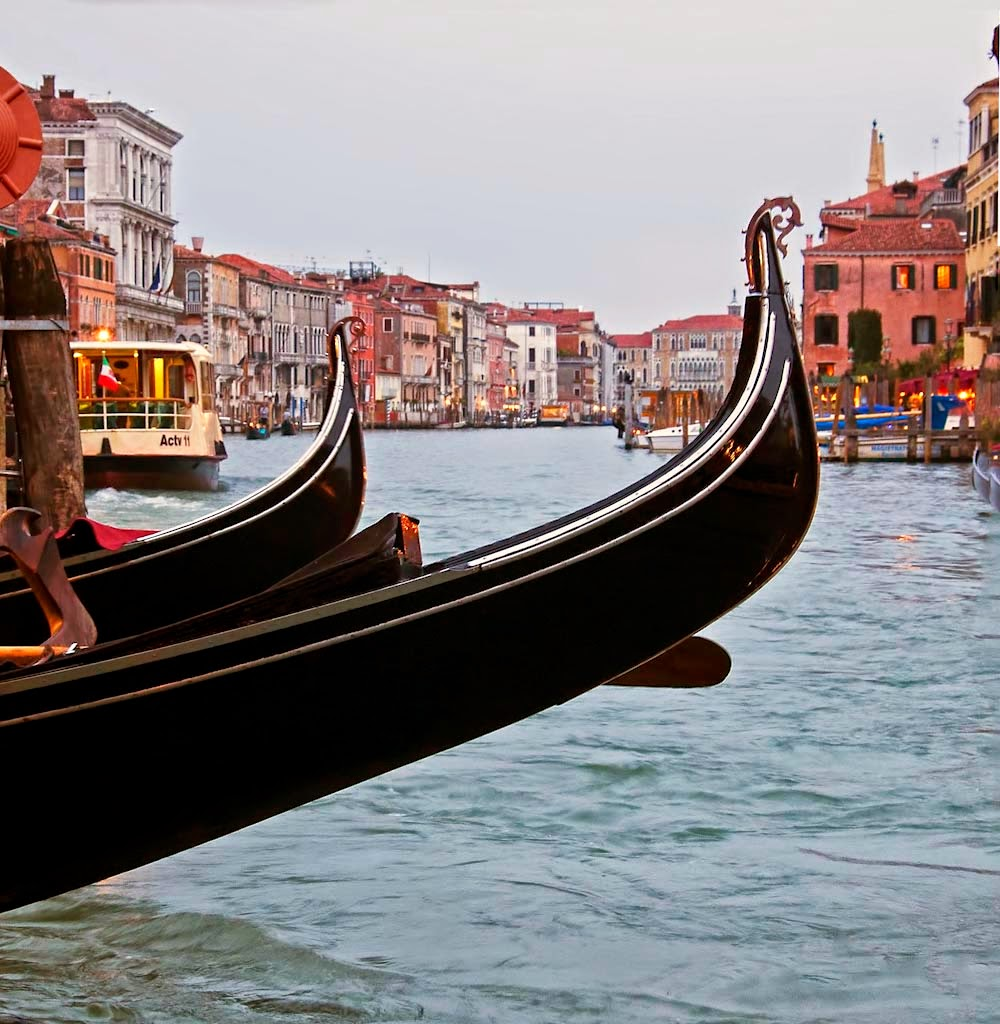 """Venice Gondolas"" by Dana Pesola 3d place Digital General ""B"""