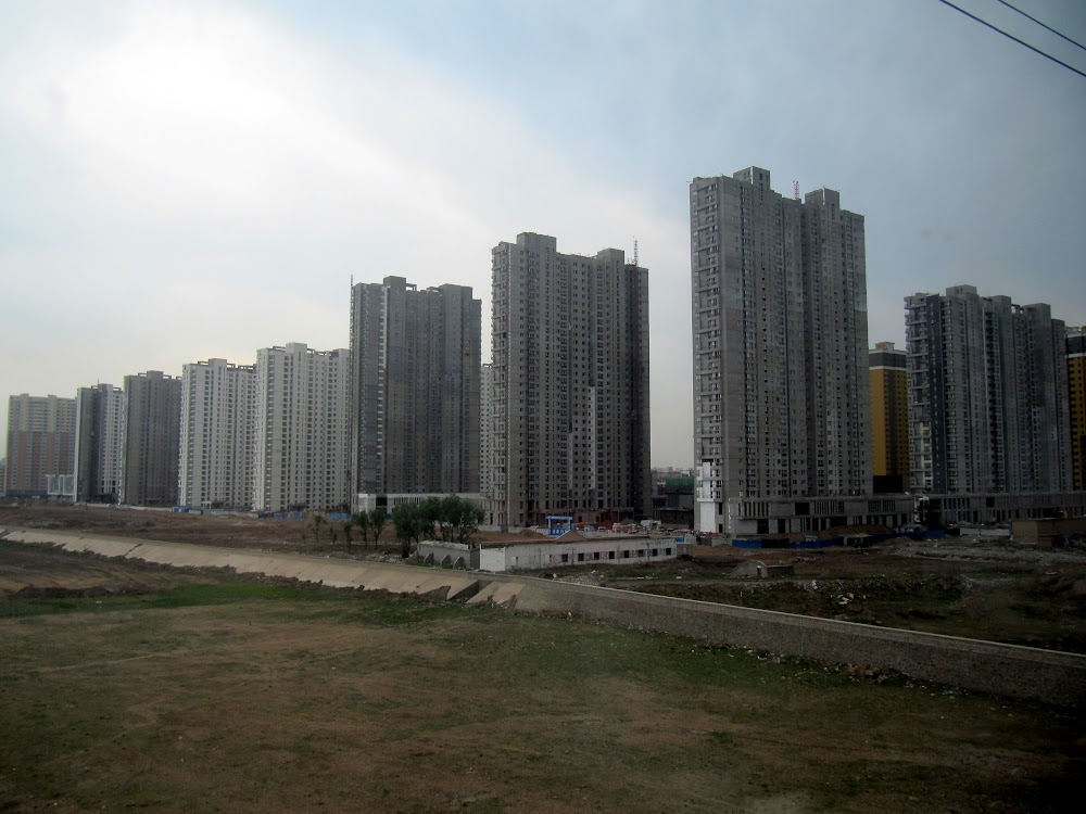 Chinese Apartment Buildings