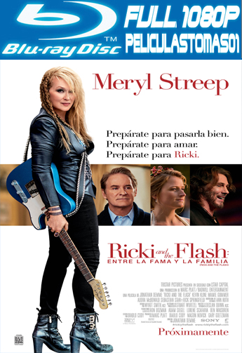 Ricki and the Flash: entre la fama y la familia (2015) BRRipFull 1080p
