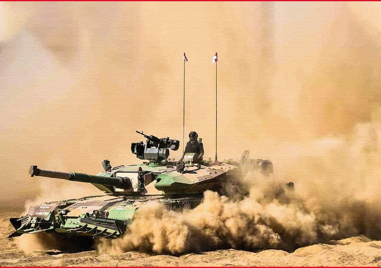 """Indian Defence Department Seals Contract for Arjun """"Hunter Killer"""" Tanks."""