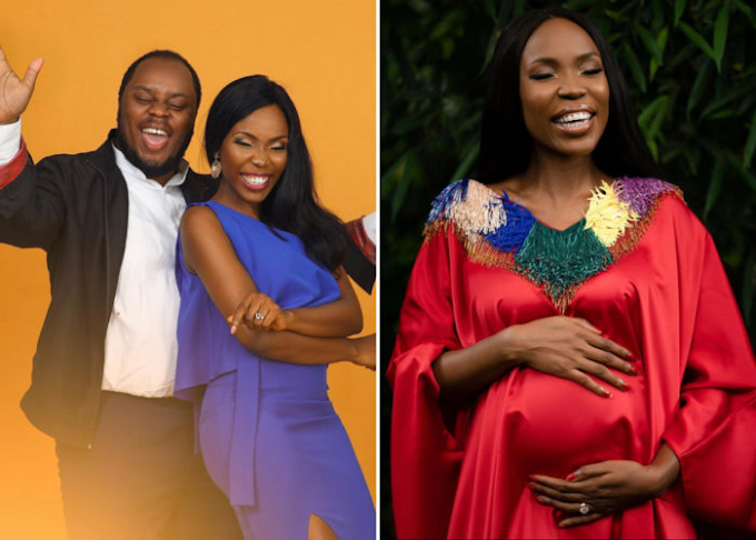 Actress Lala Akindoju And Hubby, Chef Fregz, Welcome Their First Child, A Baby Boy