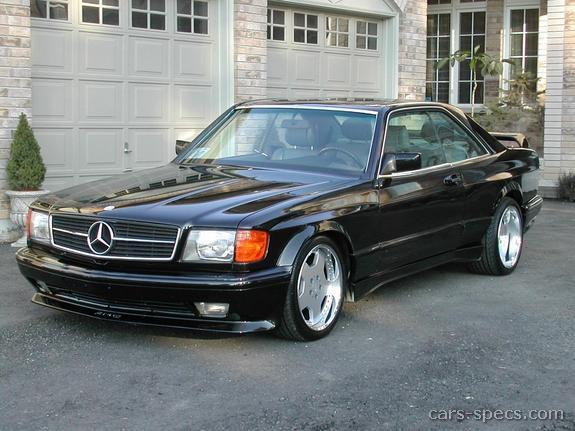1993 mercedes benz 500 class coupe specifications for Mercedes garage 93