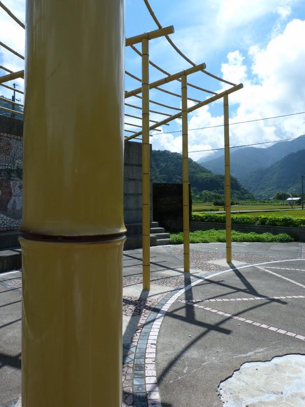 Bambous en acier