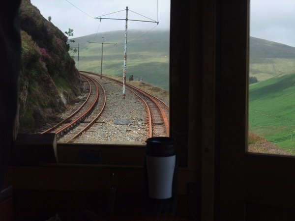 Climb and brake rail