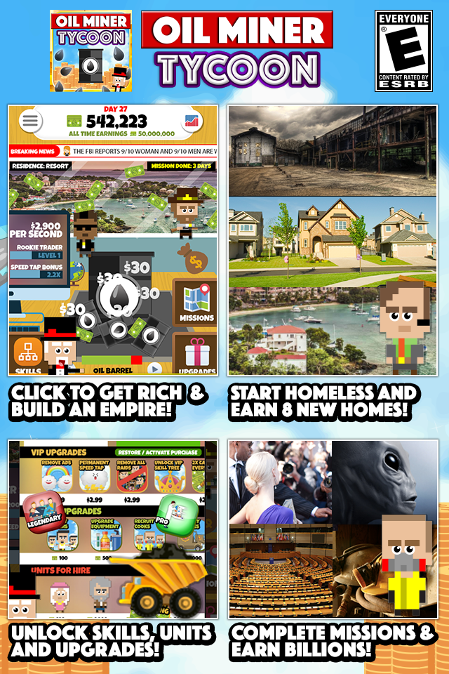 Скриншот Oil Miner Tycoon: Clicker Game