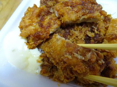チキンカツとから揚げの合い盛り丼(かつや)