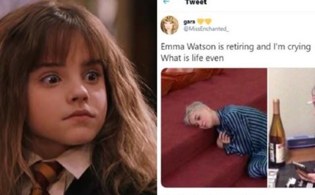 Hermione Granger: Emma Watson se retira da atuação e os fãs no Twitter não estão bem