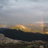 L'arcobaleno piu' alto che ho mai visto, non ci stava nella mia fotocamera