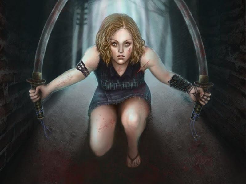 Sad Widow Maiden, Gothic
