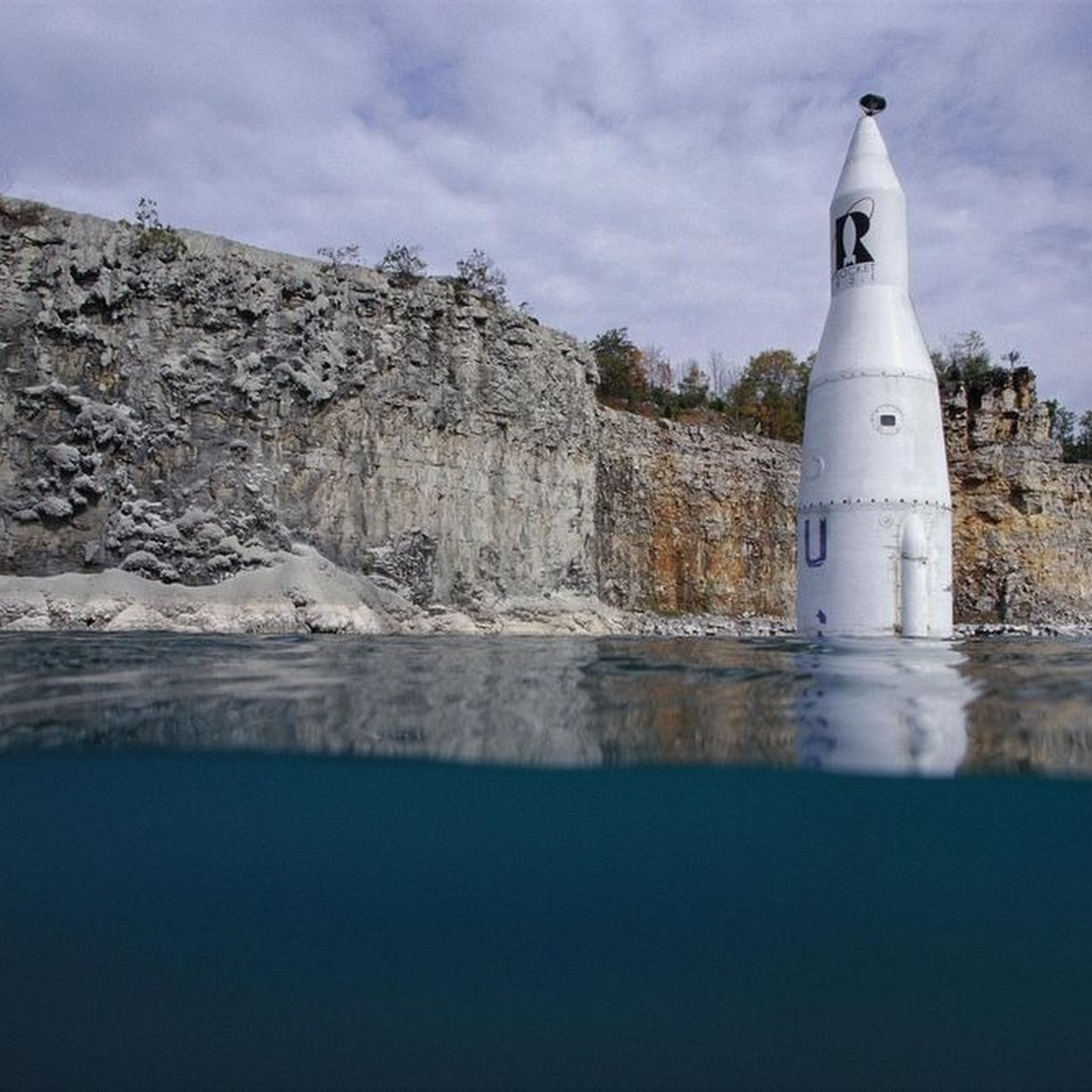 The Missile at Madison Quarry Lake