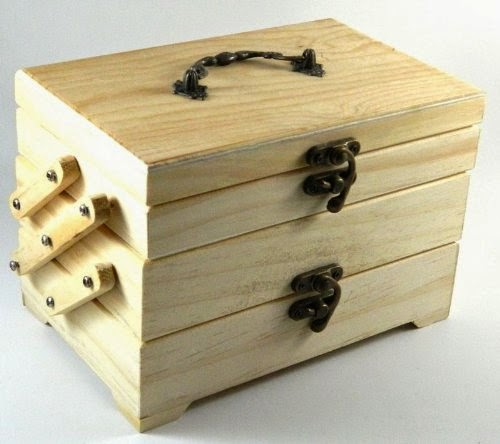 New design your own wood box diy unfinished trinket sewing for Design your own wooden ring