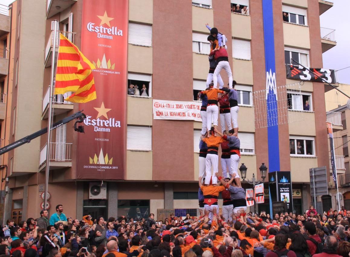 Decennals de la Candela, Valls 30-01-11 - 20110130_170_4d7_Eix_Valls_Decennals_Candela.jpg