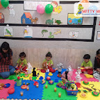 Pet Animals Tea Party by Playgroup Section at Witty World, Bangur Nagar (2018-19)