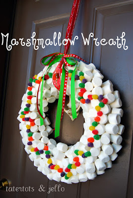 couronne-noel-chamallows-activite-enfant