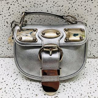 Gucci Metallic Micro Bag