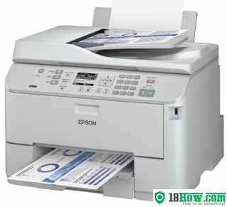 How to Reset Epson WPM-4521 laser printer – Reset flashing lights problem