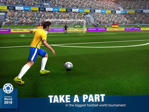 FreeKick Soccer World 2018 1.6.6 gameplay | by HackJr.Pw 8