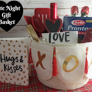 'Dinner for Two' Date Night Gift Basket Recipe