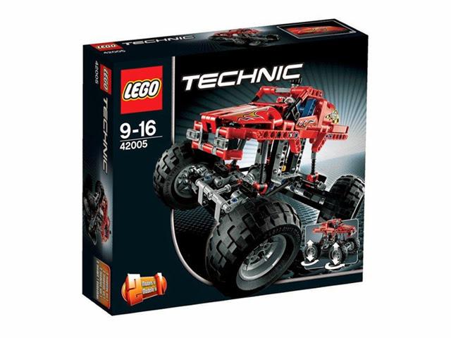42005 レゴ テクニック モンスタートラック