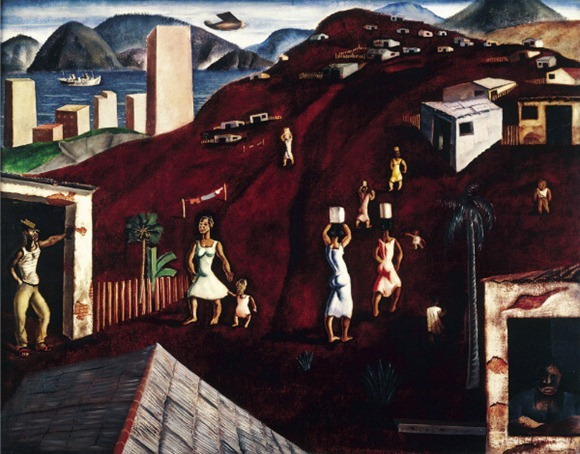 Morro do Rio - Candido Portinari