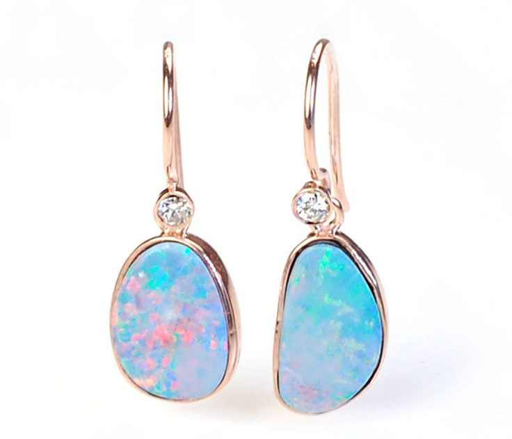exquisite opal earrings collection ideas 2017
