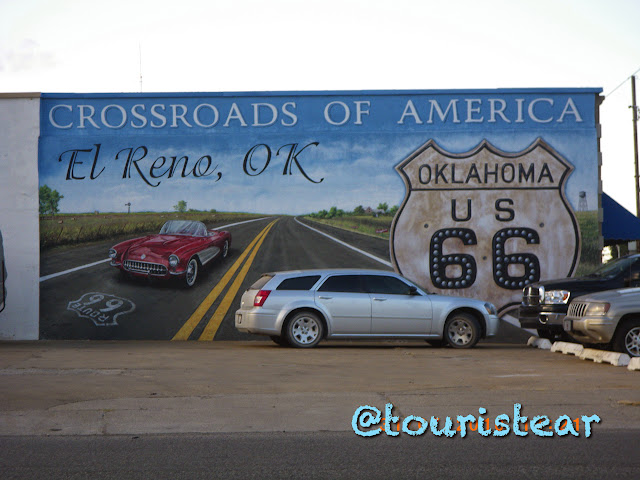 Clinton - Bristow. Route 66