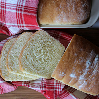 Homemade Country White Bread