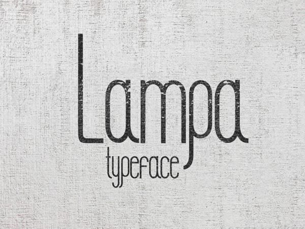LAMPA Free Fonts
