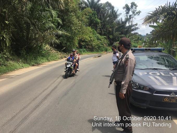 Minggu Giat Patroli rutin Polsek Padang Ulak Tanding.