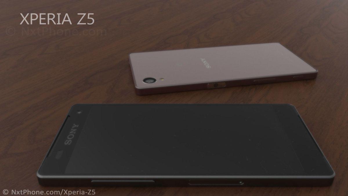 Xperia Z5 với viền mỏng 3