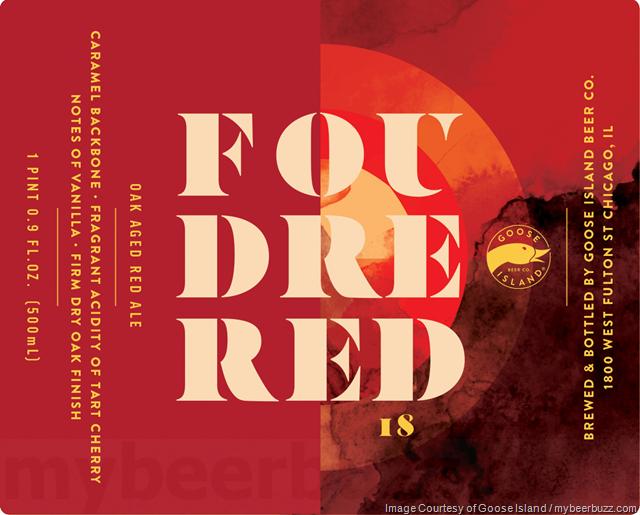 Goose Island Adding Foudre Red 18
