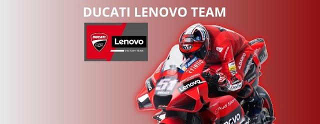 Lenovo menjadi sponsor utama Ducati MotoGP  2021