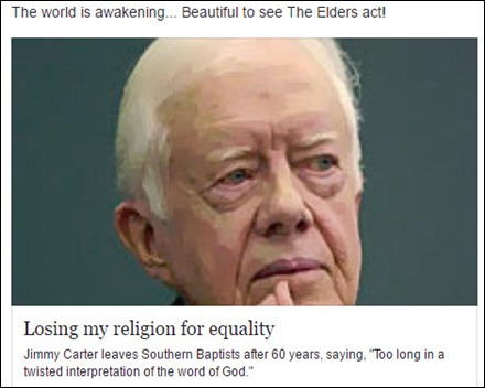 Jimmy Carter-equality