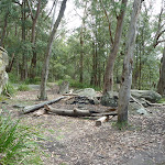 Ruined Castle mine campsite (313229)