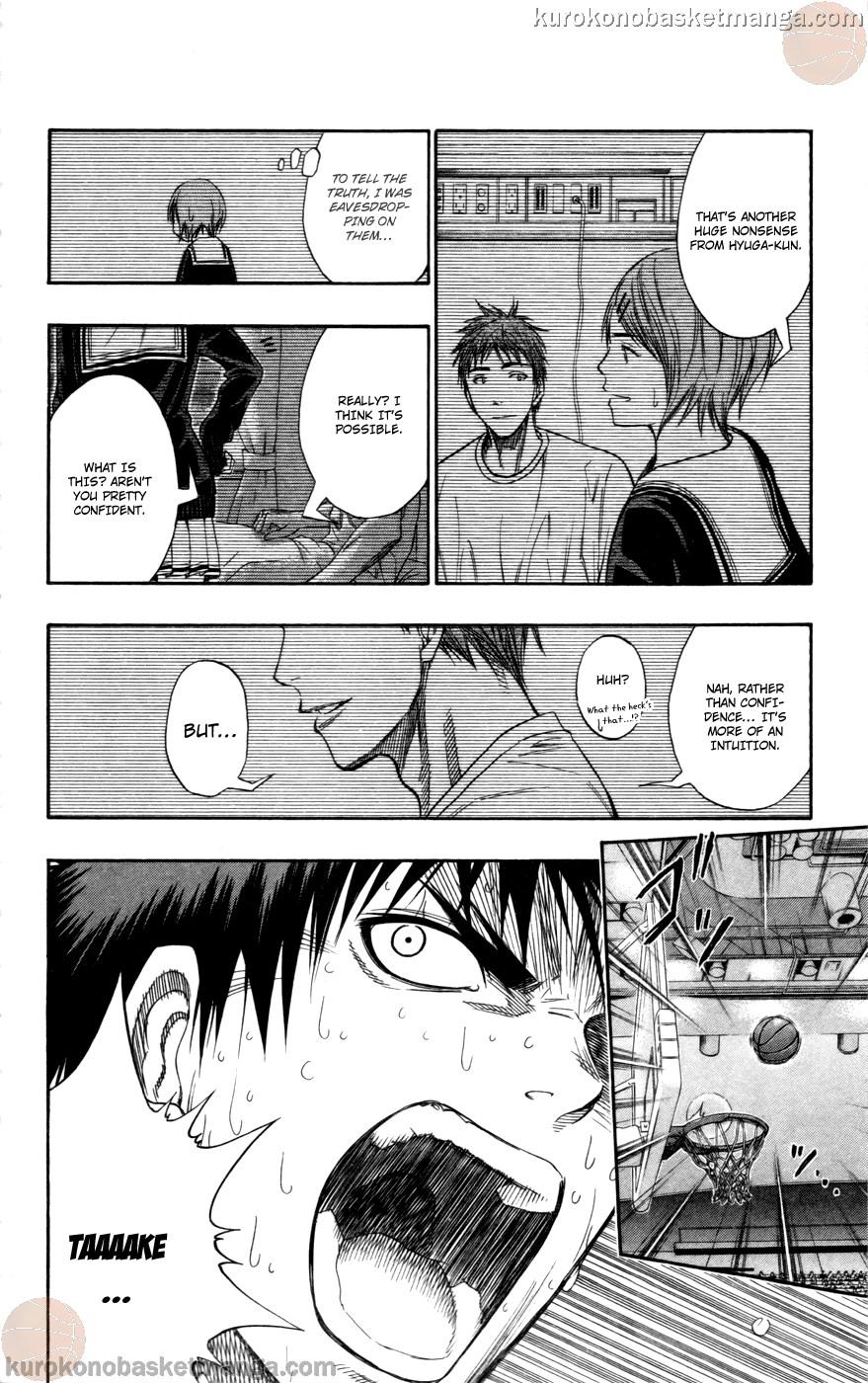 Kuroko no Basket Manga Chapter 106 - Image 14