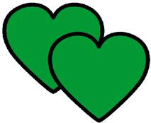 corações verdes1