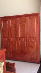 Tủ quần áo gỗ MS-174 (Còn hàng)