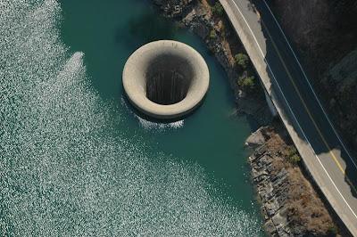 monticello dam aerial