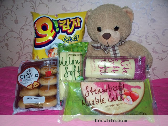 Korean Cake Breads