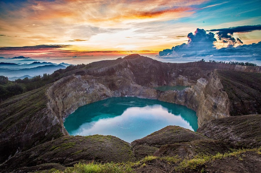 Kelimutu Crater Color Lakes by Andi Hermansyah - Landscapes Mountains & Hills