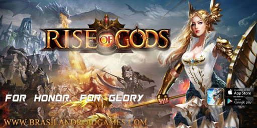 Rise of Gods - A saga of power and glory Imagem do Jogo