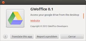 Google Docs en tu escritorio de Ubuntu con GWoffice