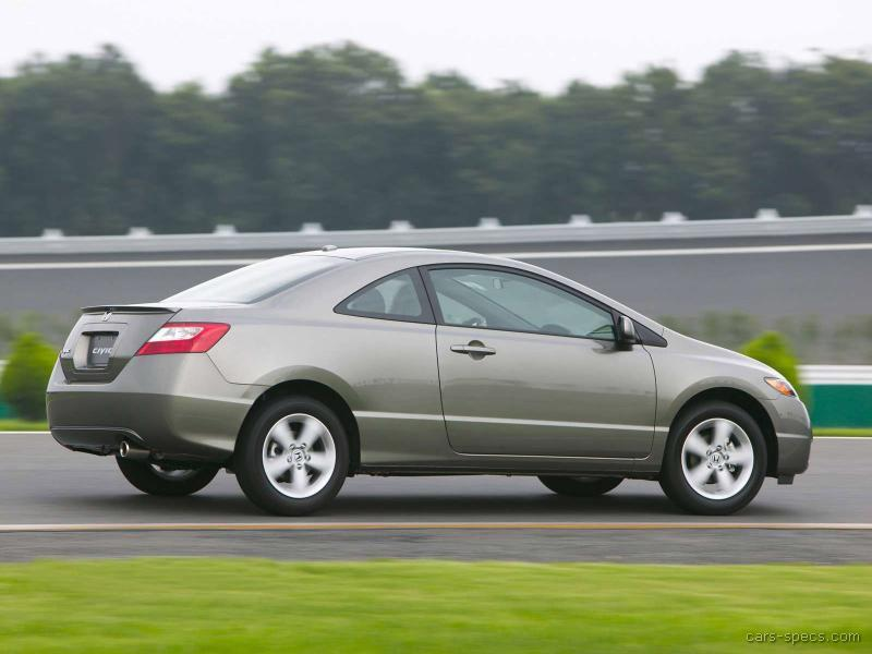 2006 honda civic coupe specifications pictures prices. Black Bedroom Furniture Sets. Home Design Ideas