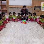 Lemonade Making Activity by Nursery Morning Section at Witty World, Chikoowadi (2018-19)