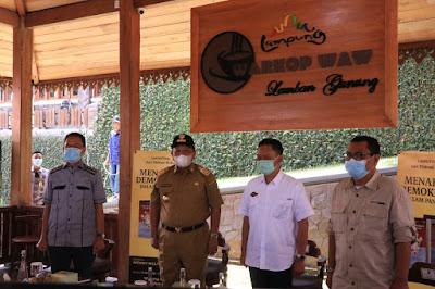 Gubernur Arinal Hadiri Launching Buku Menakar Demokrasi Dalam Pandemi